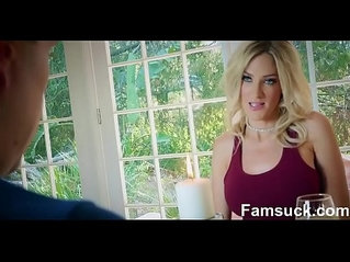 Fucking Horny Stepmom After A romantic date
