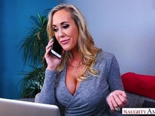 Naughty America Find Your Fantasy Brandi Love fucking on couch
