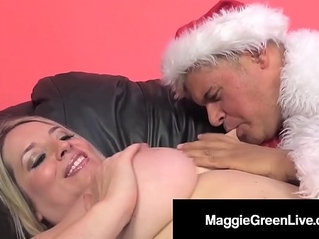 Horny Hottie Maggie Green Is Banged By Santa His BBC Elf!