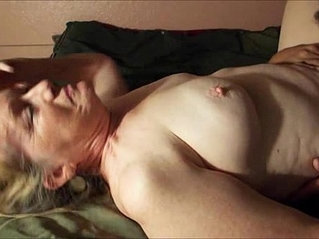 Granny gets her cunt eaten to orgasm