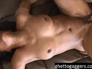 time extreme fuck for slut Sha Dynasty at ghetto gaggers