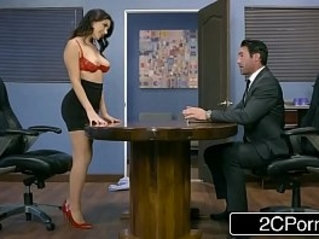 Italian Business Woman Valentina Gets Hardcore bang in Office Fucking