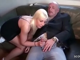 Grandfather Seduce 18yr old German Teen To Fuck each other With Him