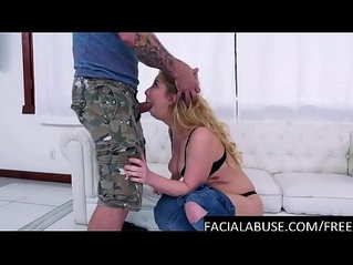 big cocks facefuck her very rough
