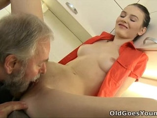 Old goes young katia is a young and sensuous woman