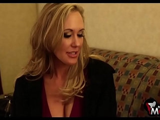 Brandi Love screams as she gets her tight cunt nailed hard