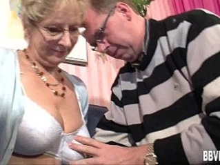 Busty german milf gets her pussy nailed