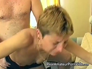 Mature housewife is fucked in her ass