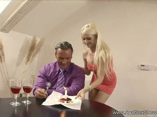 Daddy Makes Step Daughter Anal Slave