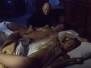 UNCLE GROPES NIECES IN BED