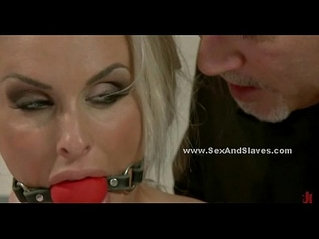 Blonde nurse caught and punished