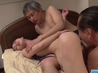 Misaki Yoshimura really loves fucking threesome