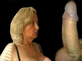 Granny from gives a hot blowjob and gets fucked