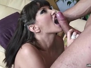 Big ass brunette with stockings fucked hard doggy style intensely