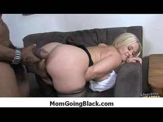 Huge black monster cock and fucks pussy