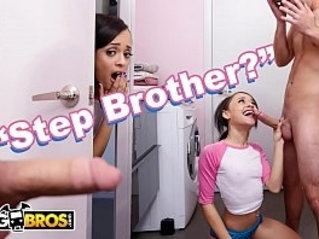 Teen Holly Hendrix Is Almost Caught Fucking Her Stepbrother